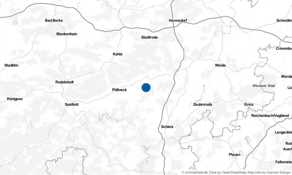 Karte: Wo liegt Weira?