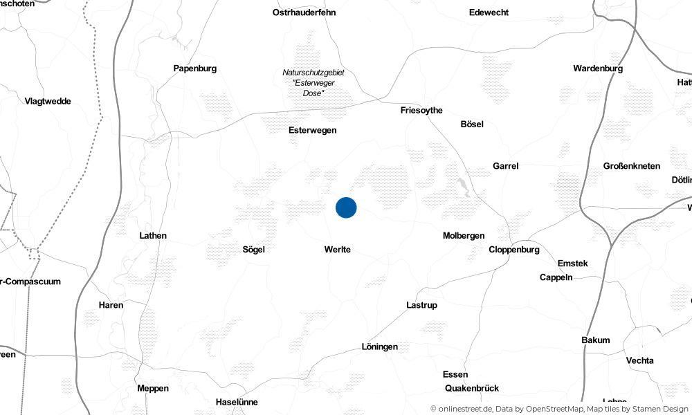 Karte: Wo liegt Rastdorf?