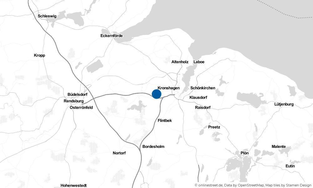 Karte: Wo liegt Melsdorf?