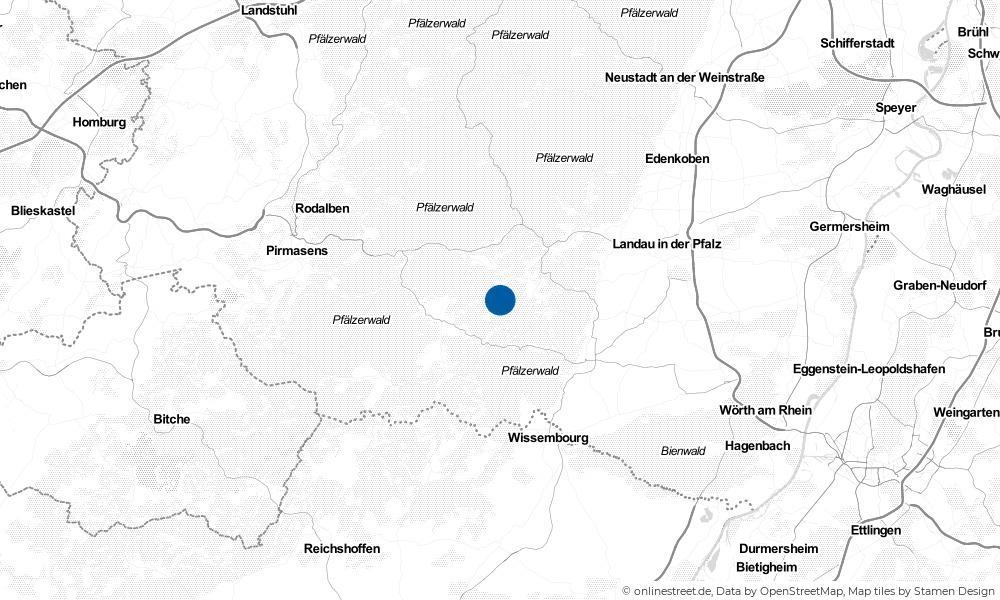 Karte: Wo liegt Darstein?