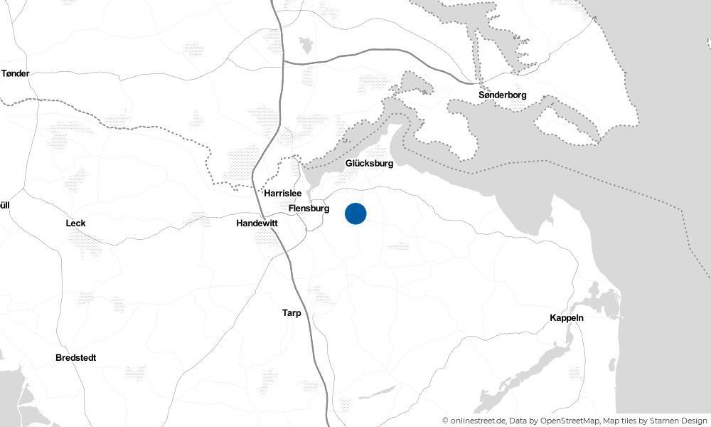 Karte: Wo liegt Maasbüll?