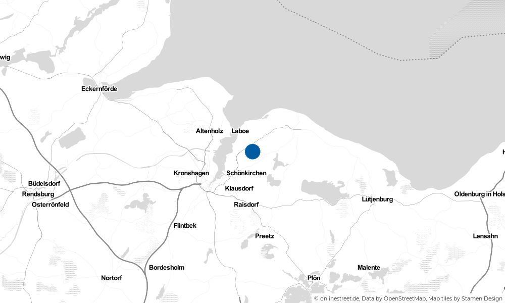 Karte: Wo liegt Brodersdorf?