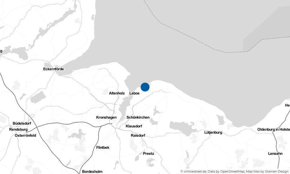 Karte: Wo liegt Stein?