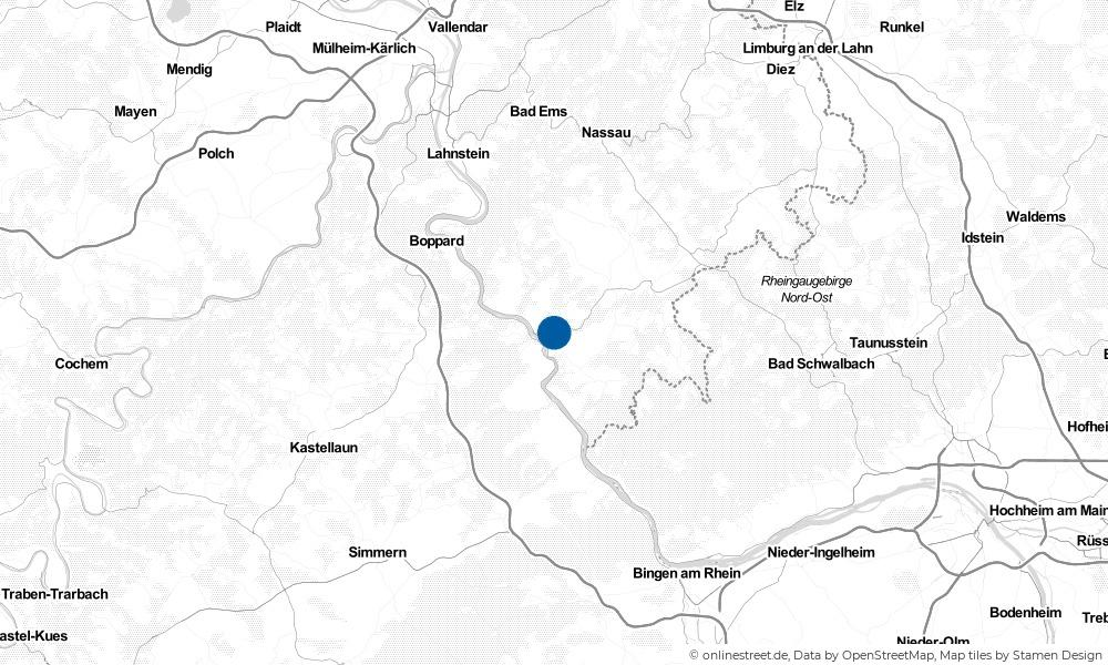 Karte: Wo liegt Patersberg?
