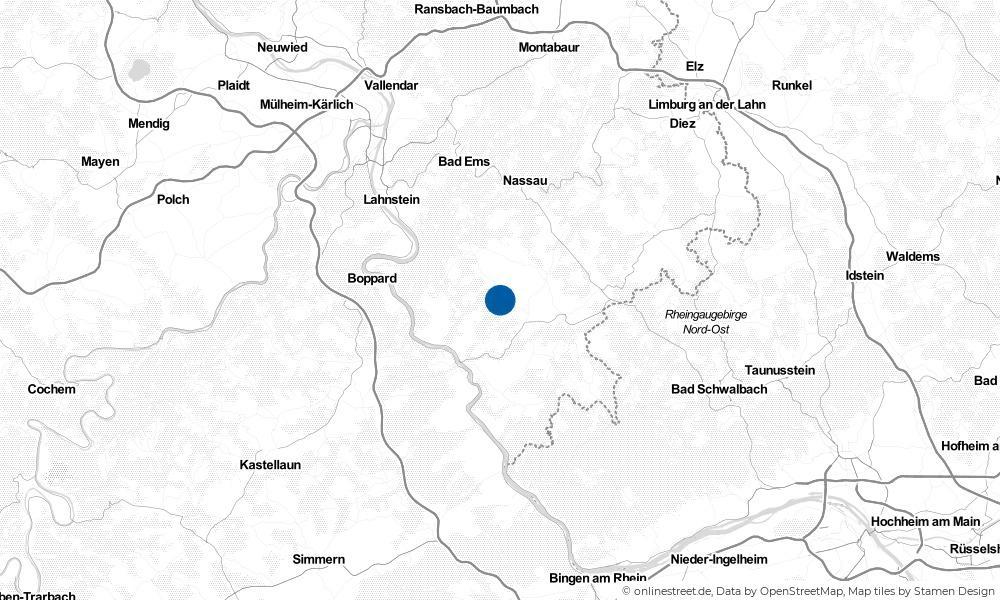 Karte: Wo liegt Himmighofen?