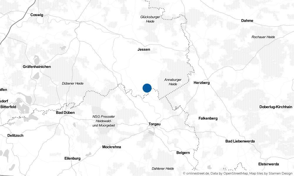 Karte: Wo liegt Labrun?