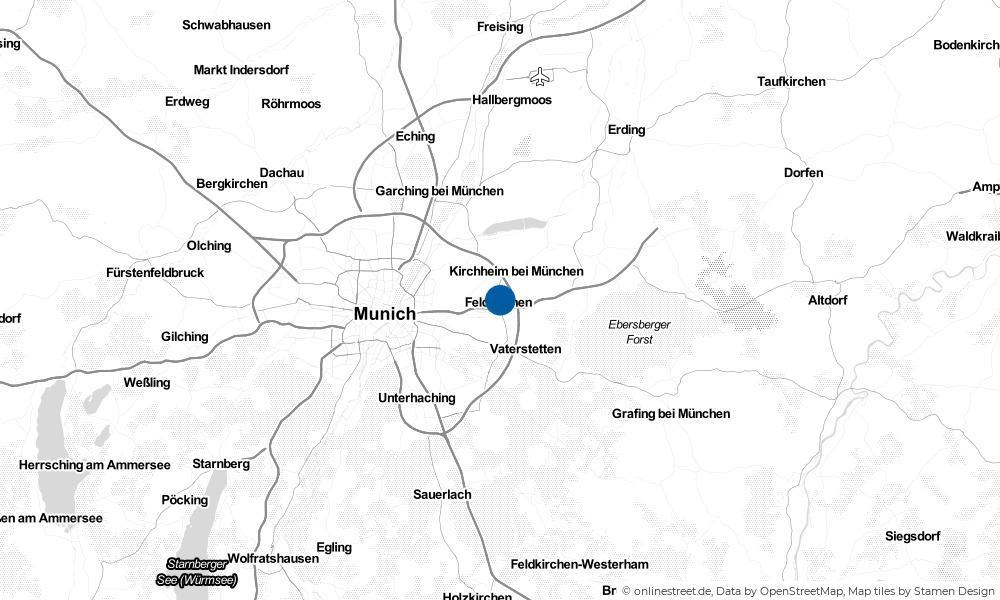 Karte: Wo liegt Feldkirchen?