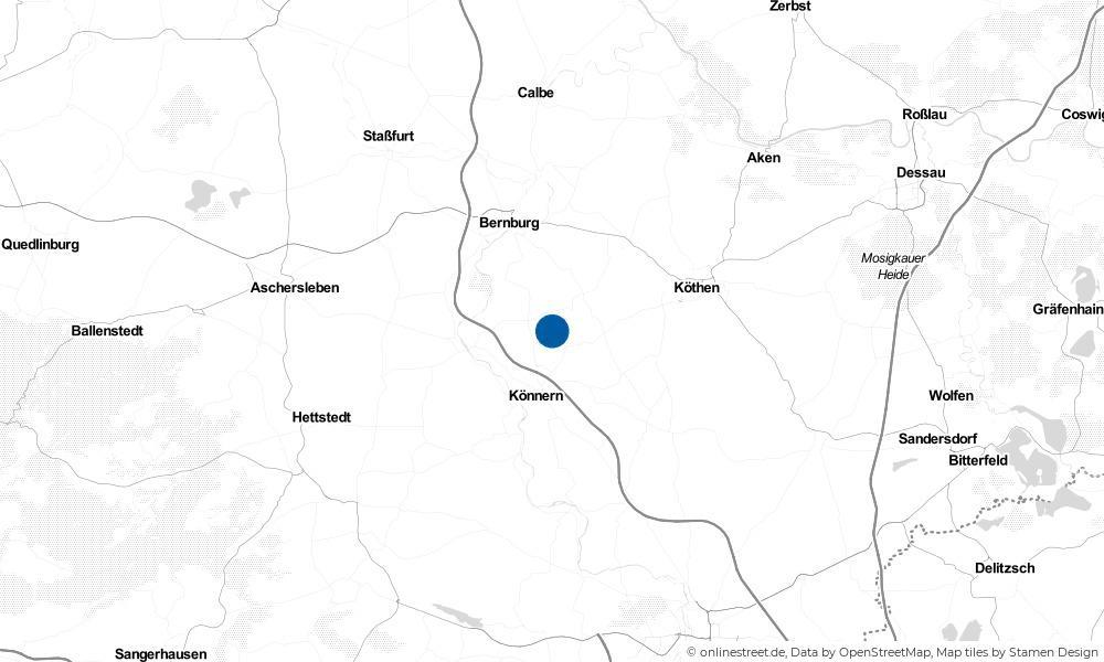 Karte: Wo liegt Lebendorf?