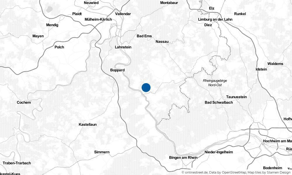 Karte: Wo liegt Nochern?
