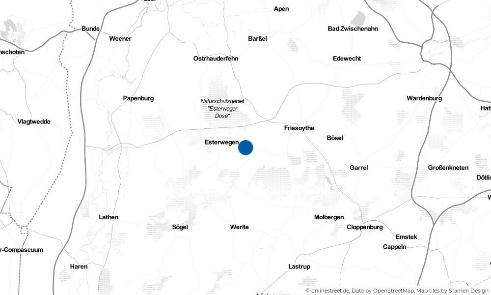 Karte: Wo liegt Hilkenbrook?