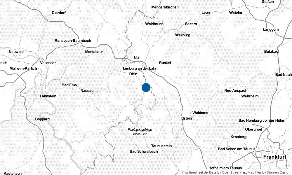 Karte: Wo liegt Oberneisen?