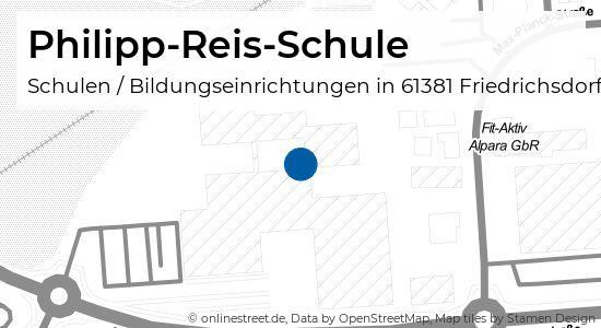 Philipp Reis Schule Farberstrasse In Friedrichsdorf Schulen