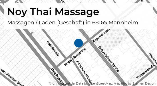 Massage thai mannheim