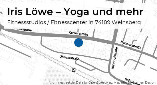 Iris Lowe Yoga Und Mehr Kernerstrasse In Weinsberg Fitnessstudios Fitnesscenter