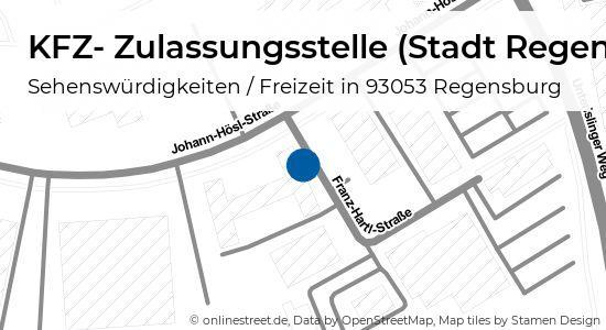 Johann Hösl Straße Regensburg