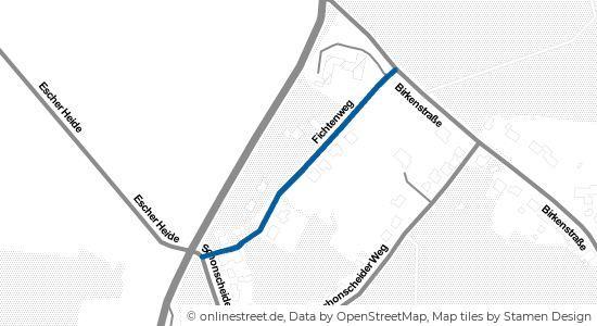 Fichtenweg in 53902 Bad Münstereifel Nitterscheid ...