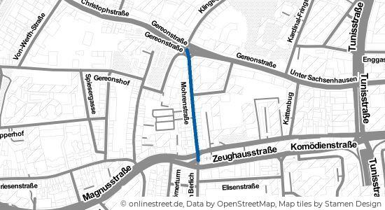 Mohrenstraße Köln