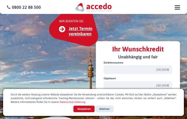 Vorschau von www.accedo.de, Accedo AG