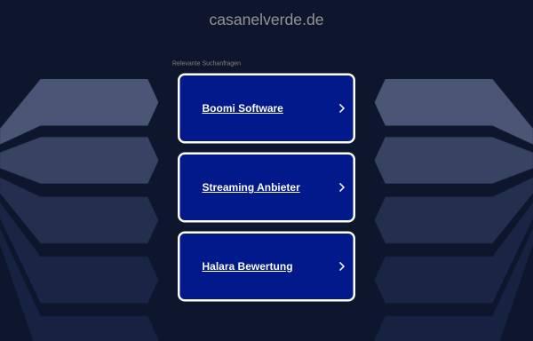 Vorschau von www.casanelverde.de, Casa nel Verde