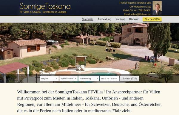 Vorschau von www.sonnigetoskana.de, Sonnige-Toskana