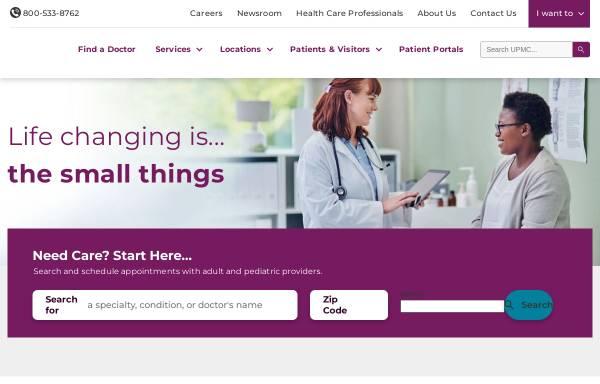 Vorschau von www.upmc.com, Dr. Schober Axel