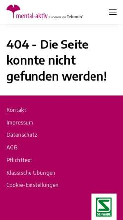 Vorschau der mobilen Webseite www.knobelforum.de, Knobel-Forum