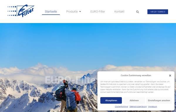 Vorschau von www.euro-filter.eu, Euro-Filter GmbH