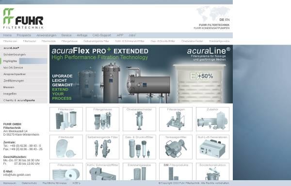 Vorschau von www.fuhr-gmbh.com, Fuhr GmbH