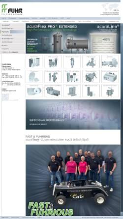 Vorschau der mobilen Webseite www.fuhr-gmbh.com, Fuhr GmbH