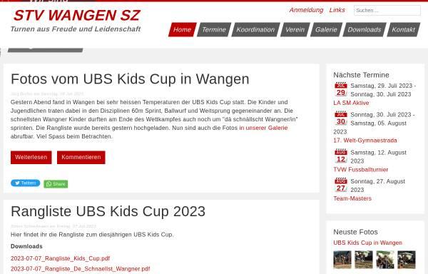 Vorschau von www.stv-wangensz.ch, STV Wangen SZ