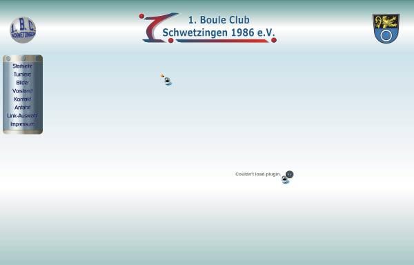 Vorschau von www.bc-schwetzingen.de, 1. Boule-Club Schwetzingen e.V.