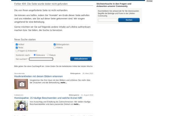 Vorschau von www.qualimedic.de, Menstruationsstörungen