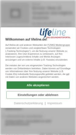 Vorschau der mobilen Webseite www.qualimedic.de, Menstruationsstörungen