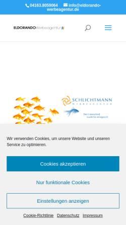 Vorschau der mobilen Webseite www.schlichtmann.com, Andreas Schlichtmann