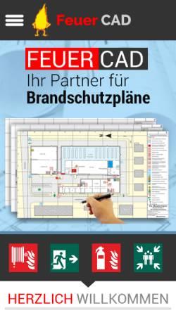 Vorschau der mobilen Webseite www.feuercad.de, Feuer CAD