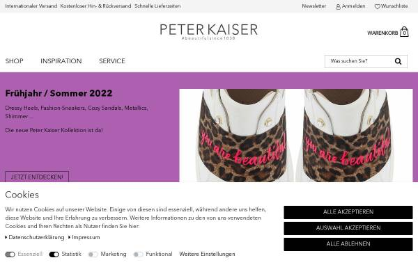 Vorschau von www.peter-kaiser.de, Peter Kaiser GmbH