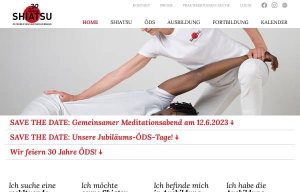 Vorschau von oeds.at, ÖDS - Österreichischer Dachverband für Shiatsu