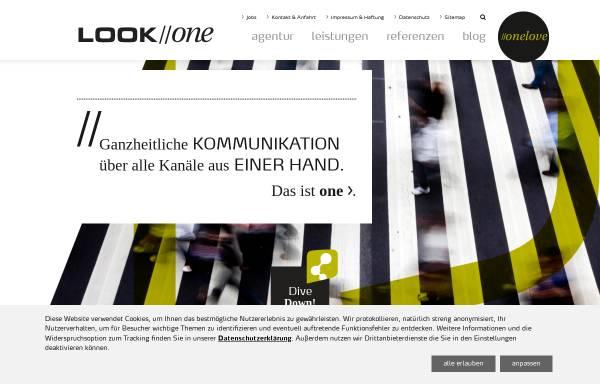 Vorschau von www.look-one.de, LOOK//one GmbH