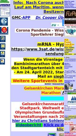 Gelsenkirchen Marathon Veranstaltungen Laufen Jogging