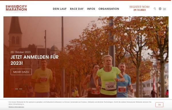 Vorschau von www.lucernemarathon.ch, Lucerne Marathon