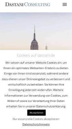 Vorschau der mobilen Webseite www.database-marketing.de, Forum Database Marketing & Data Mining