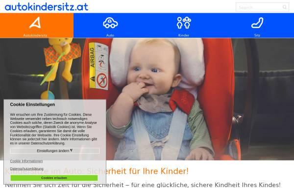 Vorschau von www.autokindersitz.at, Autokindersitz