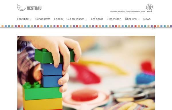 Vorschau von nestbau.info, Nestbau - Ein gesundes Umfeld für gesunde Kinder