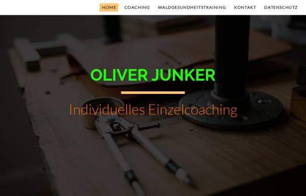 Vorschau von www.oliverjunker.de, Stressbewältigung und Entspannung für Kinder und Erwachsene