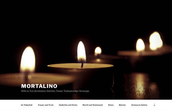 Vorschau von www.mortalino.com, Mortalino