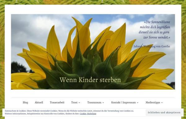 Vorschau von www.elterntreffpunkt-girasol.ch, Treffpunkt für trauernde,