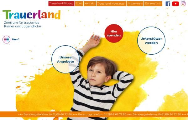 Vorschau von www.trauernde-kinder.de, Das Zentrum für trauernde Kinder e.V.