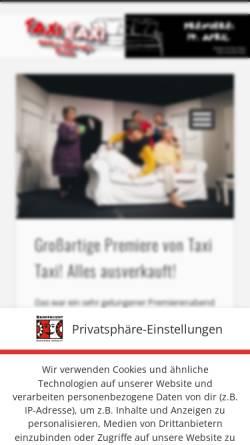 Vorschau der mobilen Webseite www.rampenlicht-lueneburg.de, Lüneburg, Rampenlicht, Amateurtheater
