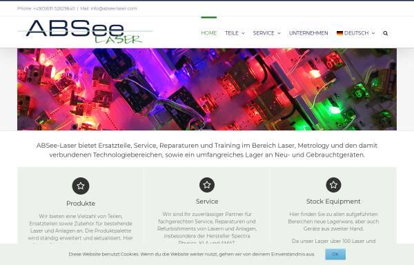 Vorschau von www.absee-laser.com, ABSee-Laser, Inh. Florian Rotter