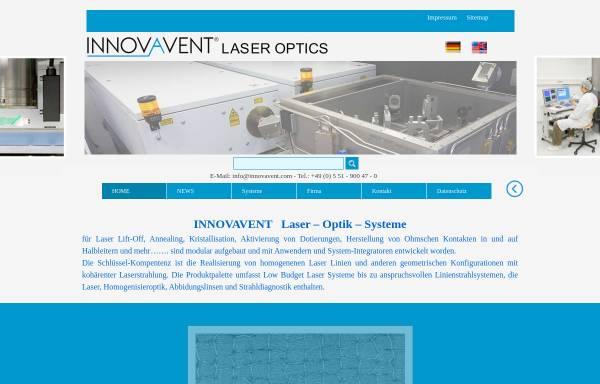 Vorschau von www.innovavent.com, Innovavent GmbH